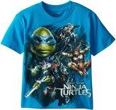 Nickelodeon Teenage Mutant Ninja Turtles Big Boys' TMNT Movie Group Action Tee