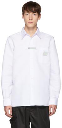 Xander Zhou White Poplin Shirt