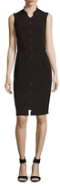 Ava & Aiden Scallop Sheath Dress