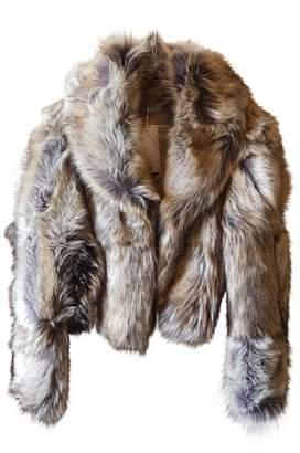 Stella McCartney Stella Mc Cartney Beige Faux fur Jackets