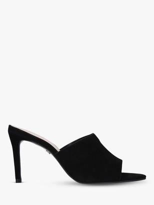 Carvela Guru Leather Stiletto Heel Mules
