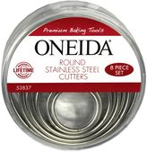 Oneida Stainless Steel Round Cutters (Set of 8)