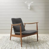Graham and Green Kennedy Armchair Grey