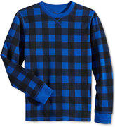 Epic Threads Buffalo Check Thermal T-Shirt, Little Boys (8-20), Only at Macy's