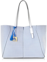 Francesco Biasia Iris Perforated Leather Tote bag