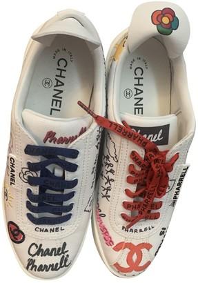 Chanel X Pharrell Williams Multicolour Cloth Trainers