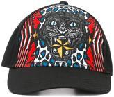 DSQUARED2 leopard print baseball cap