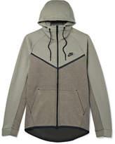 Nike Sportswear Cotton-Blend Tech Fleece Hoodie