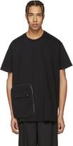 Givenchy Black Detachable Pocket T-Shirt