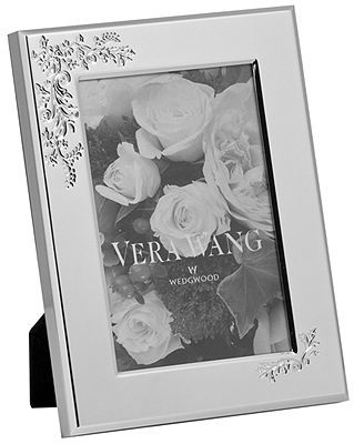 """Vera Wang Wedgwood Vera Lace Bouquet 4"""" x 6"""" Picture Frame"""