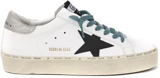 Golden Goose Hi Star White Leather Sneaker