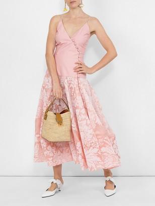 Rosie Assoulin Damask Midi Dress