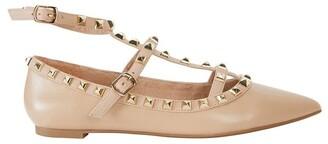 Pink Inc Inez Nude Kid Flat Shoes
