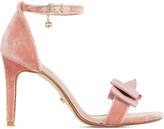 Dune Moella velvet sandals