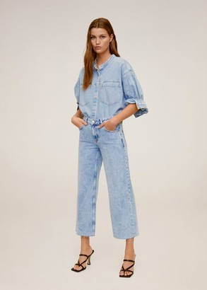 MANGO Culotte jeans medium blue - 1 - Women
