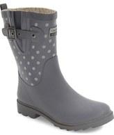 Chooka 'Flash Dot' Reflective Waterproof Rain Boot (Women)