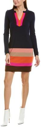 Trina Turk Camp Wool Sweaterdress