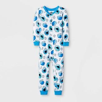 Sesame Street Toddler Boys' Cookie Monster Union Suit -