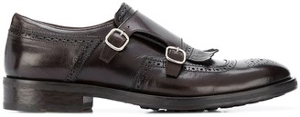 Doucal's Roberto double-strap monk shoes