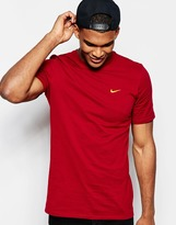 Nike T-shirt Embroidered Swoosh 707350-677 - Red