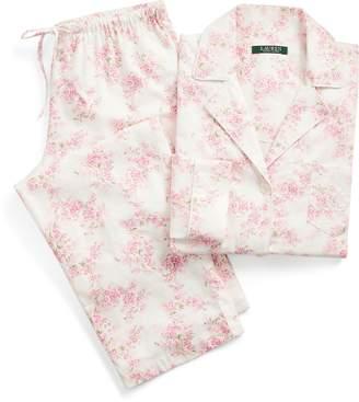 Ralph Lauren Floral Cotton Twill Sleep Set