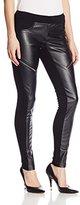 Mcginn Women's Odette Faux Leather Zip Detail Pants