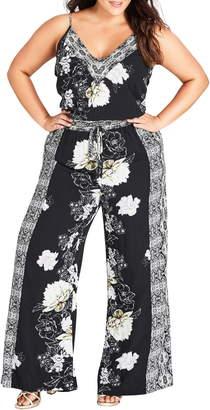 City Chic Jewel Jumpsuit