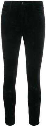J Brand Mid Rise Skinny Trousers