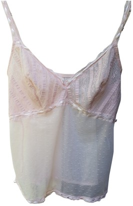 Christian Dior Pink Lace Tops