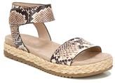 Naturalizer Soul Detail Espadrille Platform Sandal