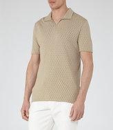 Reiss Clark Open Neck Polo Shirt