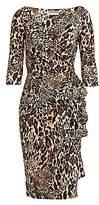 Chiara Boni Women's Florien Animal Print Dress