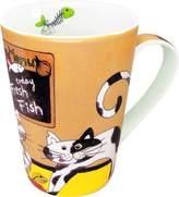 Konitz Caunitz Happy Cats Fresh fish mug 111 032 0203 (japan import)