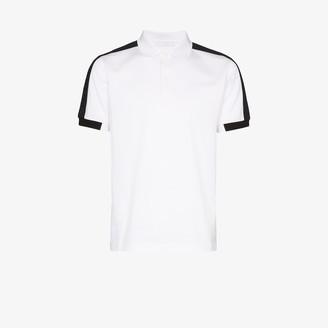 Prada Side-Stripe Polo Shirt