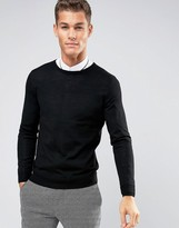 Jack and Jones Slim Merino Crew Knit