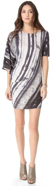 Maison Martin Margiela Printed Twist Dress