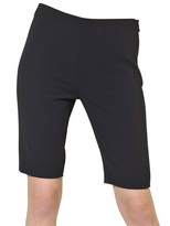 Moschino Techno Crepe Shorts