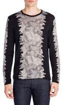Emporio Armani Maglia Graphic Crewneck Sweater