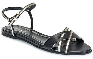 HUGO BOSS 50262267 women's Sandals in Black