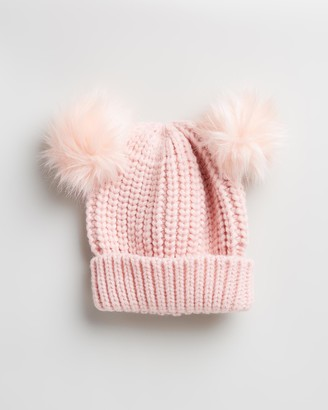 Morgan & Taylor Girl's Pink Beanies - Nikita Mini Beanie - Kids - Size One Size, 2-4YRS at The Iconic