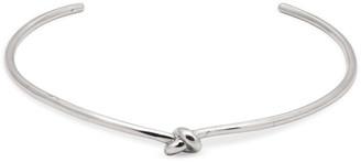 Jennifer Fisher Knot Choker (Silver)