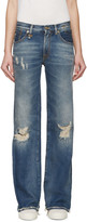 R 13 Blue The Jane Jeans