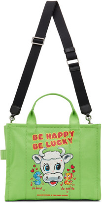 Marc Jacobs Green Magda Archer Edition The Small Traveler Tote