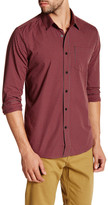 Volcom Everett Minicheck Long Sleeve Modern Fit Shirt