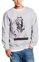 Star Wars Men's Stormtrooper Ready to Attack Sweatshirt