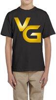 LaraStore Boy's Youtube Vanoss Gaming VG Logo Short Sleeve Tee