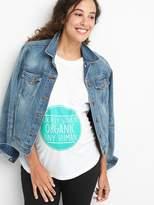 Gap Maternity graphic short sleeve tunic tee