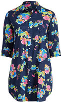 Ralph Lauren Woman Floral-Print Sleep Shirt