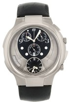 Philip Stein Teslar Chrono 9-CRB3-CB Stainless Steel Quartz Mens Watch