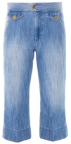 Etoile Isabel Marant Orsen cropped flared jeans